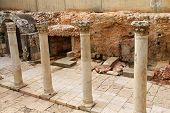 stock photo of cardo  - Ancient Roman Cardo street - JPG