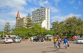 MAPUTO, MOZAMBIQUE?? - APRIL 29: Unidentified people on the Market in Maputo, Mozambique on April 29