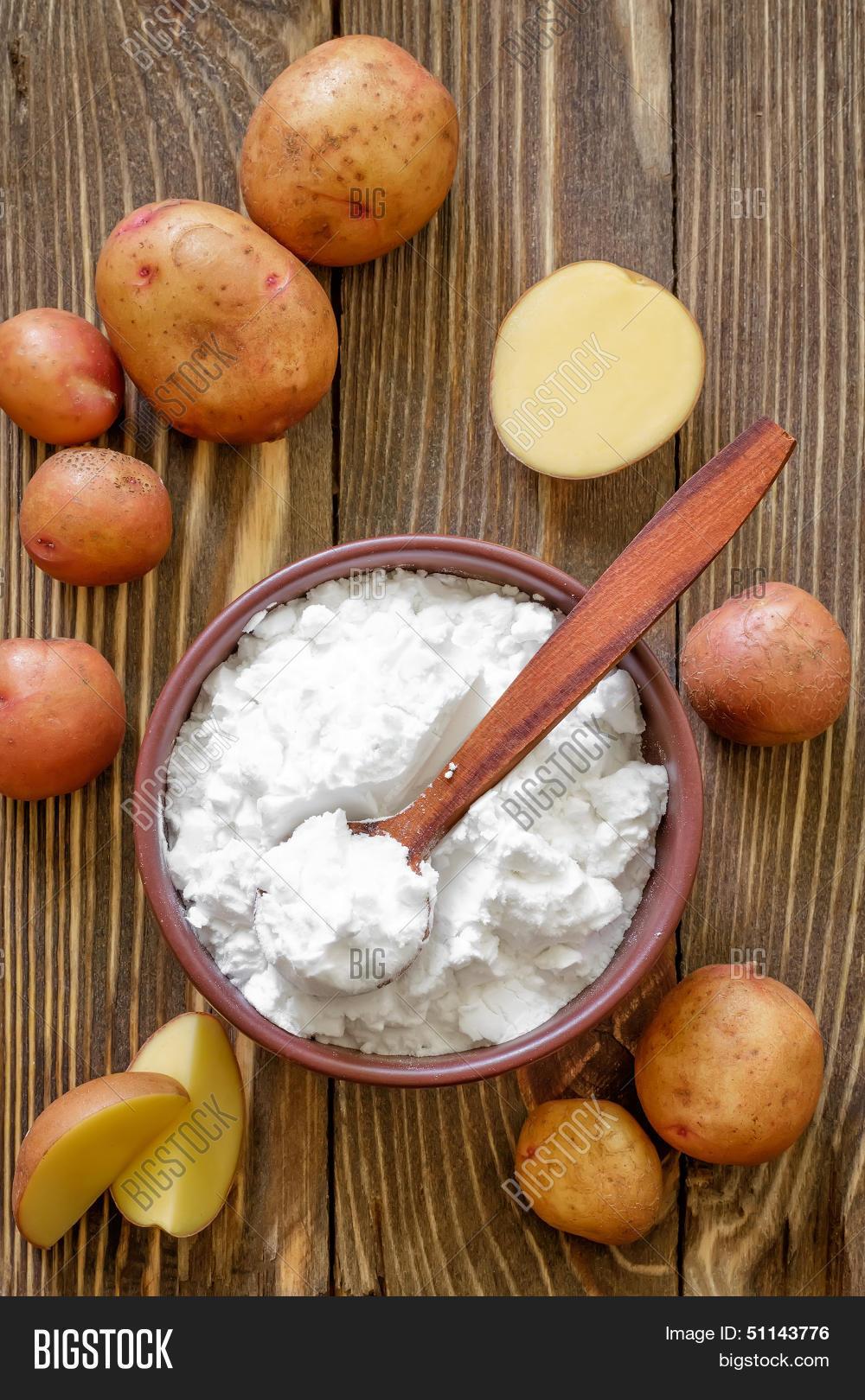 Как сделать крахмал из картофеля