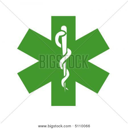 Green Medical Symbol, Logo