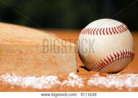 Baseball With Bag