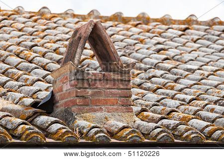 Very Old Roof Tiles