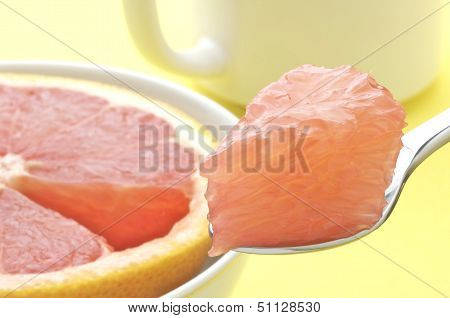 Bite of Grapefruit