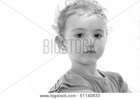 Young child with great expression