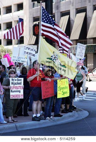 Corner Protest
