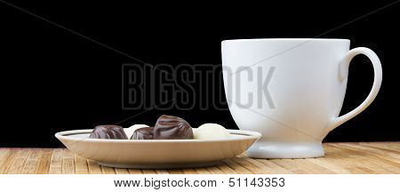 Cup And Saucer Sweet Candy