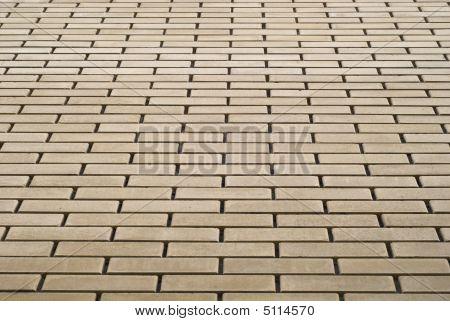 Yellow Bricks Wall