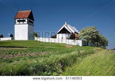 St. Povel Kirke On Bornholm