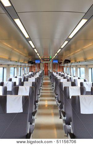 High Speed Train Interior