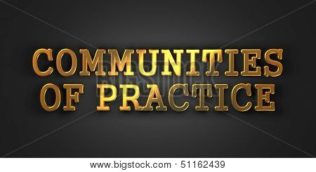 Communities of Practice. Educational Concept.