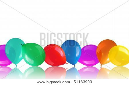Balloons On Floor