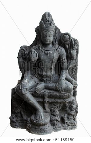 Six armed Avalokitesvara, from 10th century found in Nalanda, Bihar, India