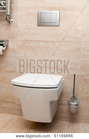 Modern design restroom