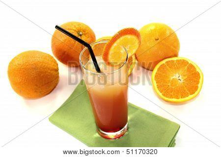 Campari Orange In A Glass