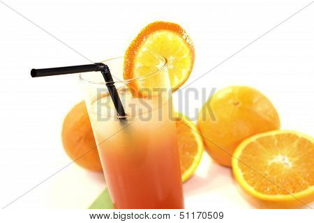 Campari Orange On A Napkin