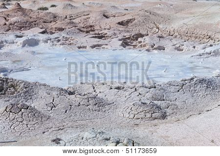 Yellowstone National Park, mud pool