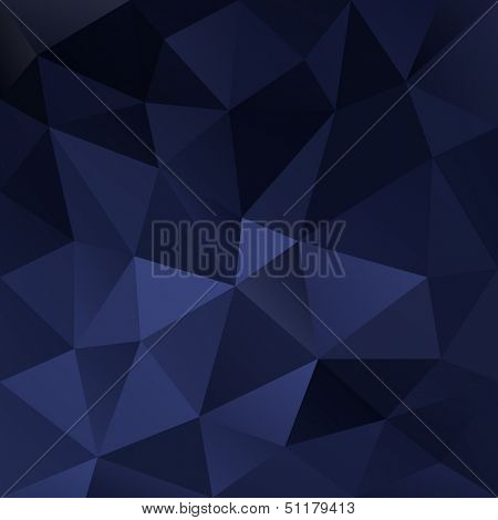Blue silky abstract background