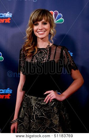 NEW YORK-SEP 18: Singer Cami Bradley at the post-show red carpet of