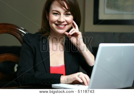 Business Woman Working
