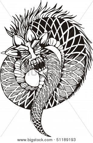 Oriental Legless Dragon
