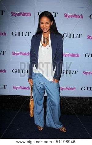 LOS ANGELES - SEP 19:  Joy Bryant at the People Stylewatch Hollywood Denim Partyy at Palihouse on September 19, 2013 in West Hollywood, CA
