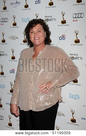 LOS ANGELES - SEP 20:  Dot Marie Jones at the Emmys Performers Nominee Reception at  Pacific Design Center on September 20, 2013 in West Hollywood, CA