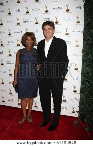 LOS ANGELES - SEP 20:  Alfre Woodard, Roderick Spencer at the Emmys Performers Nominee Reception at  Pacific Design Center on September 20, 2013 in West Hollywood, CA