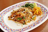 Pad Thai (fried Thin Noodles With Soy Sauce)