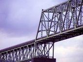 Bridge, Purple Sky poster