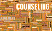 stock photo of counseling  - Counseling and Therapy as a Career Concept - JPG