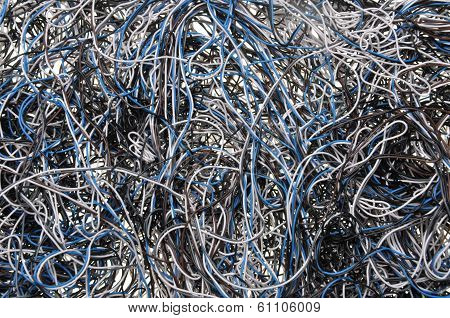 Chaos of network cables