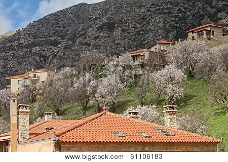 Springtime In Arachova, Greece