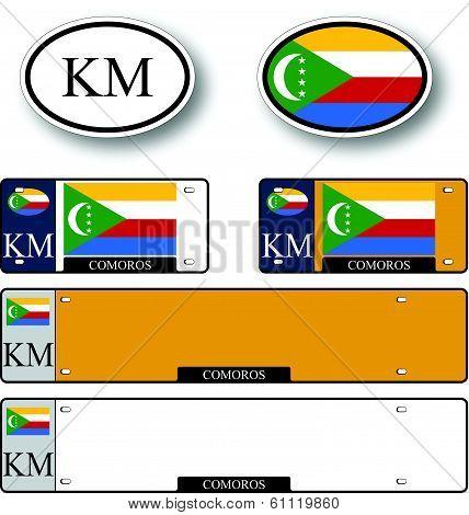 Comoros Auto Set