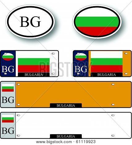 Bulgaria Auto Set
