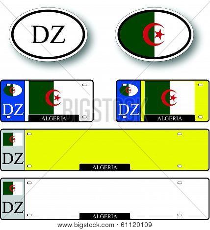 Algeria Auto Set