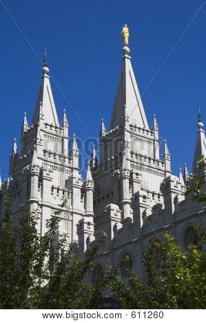Salt Lake Temple East Towers