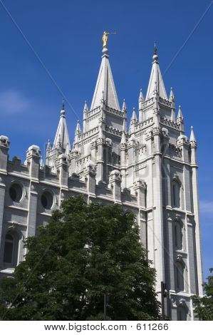 Salt Lake Temple East Side