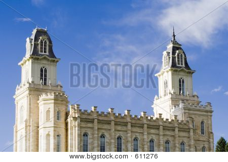 LDS Manti Utah Temple ?South