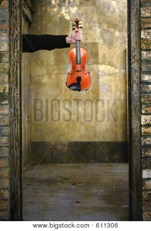 Violin In Hand