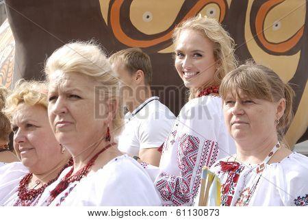 Kiev, Ukraine - 24 August 2013 - Indipendence Day