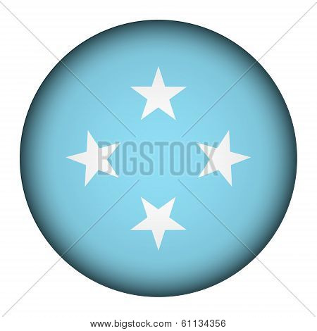 Federated States Of Micronesia Flag Button