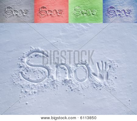 Snow In The Snow