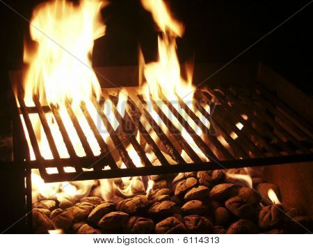Bbq Flames