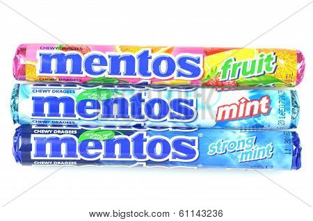 Mentos chewy dragees