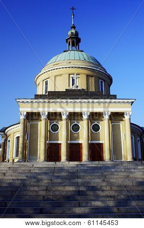 Neoclassical parish church