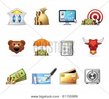 Bank and Finance - Harmony Icon Set 06