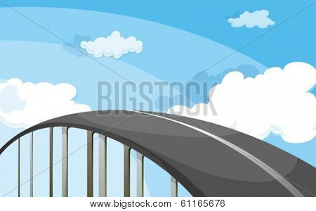 Illustration of a highway