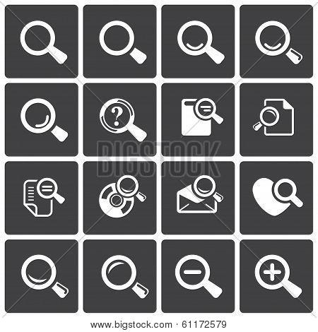 Loupe Icons & Simbols.