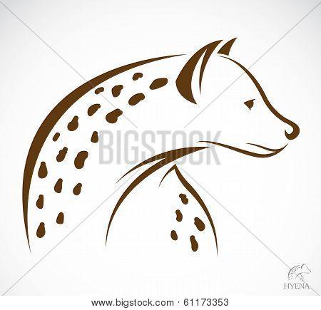 Vector Image Of A Hyena
