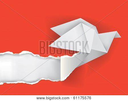 Origami_bird_ripping_paper
